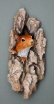 'Hope' Red squirrel wall plaque