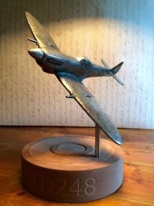 Spitfire sculpture