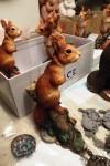 Squirrel sculpture Christmas deadline
