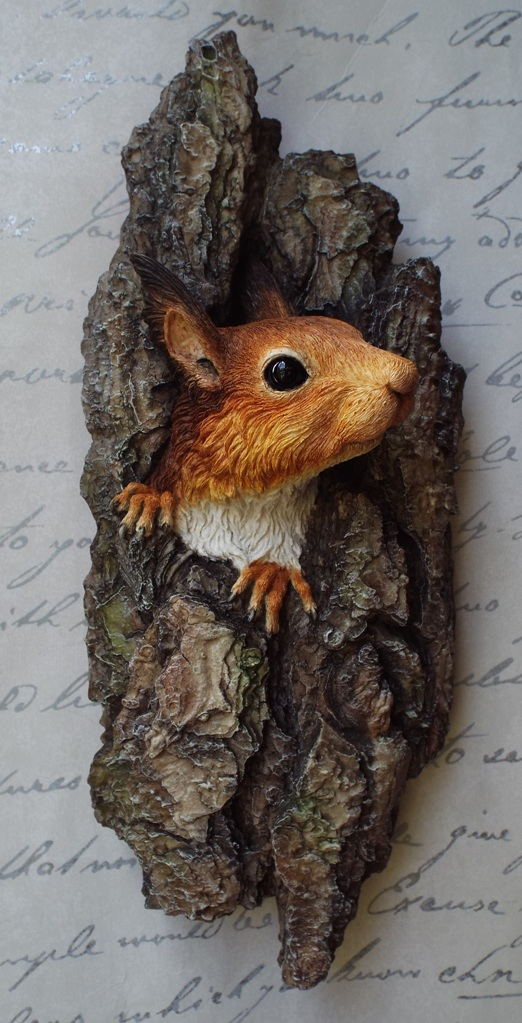 Red Squirrel sculpture