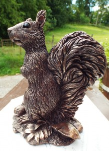 Rowan - Red Squirrel sculpture