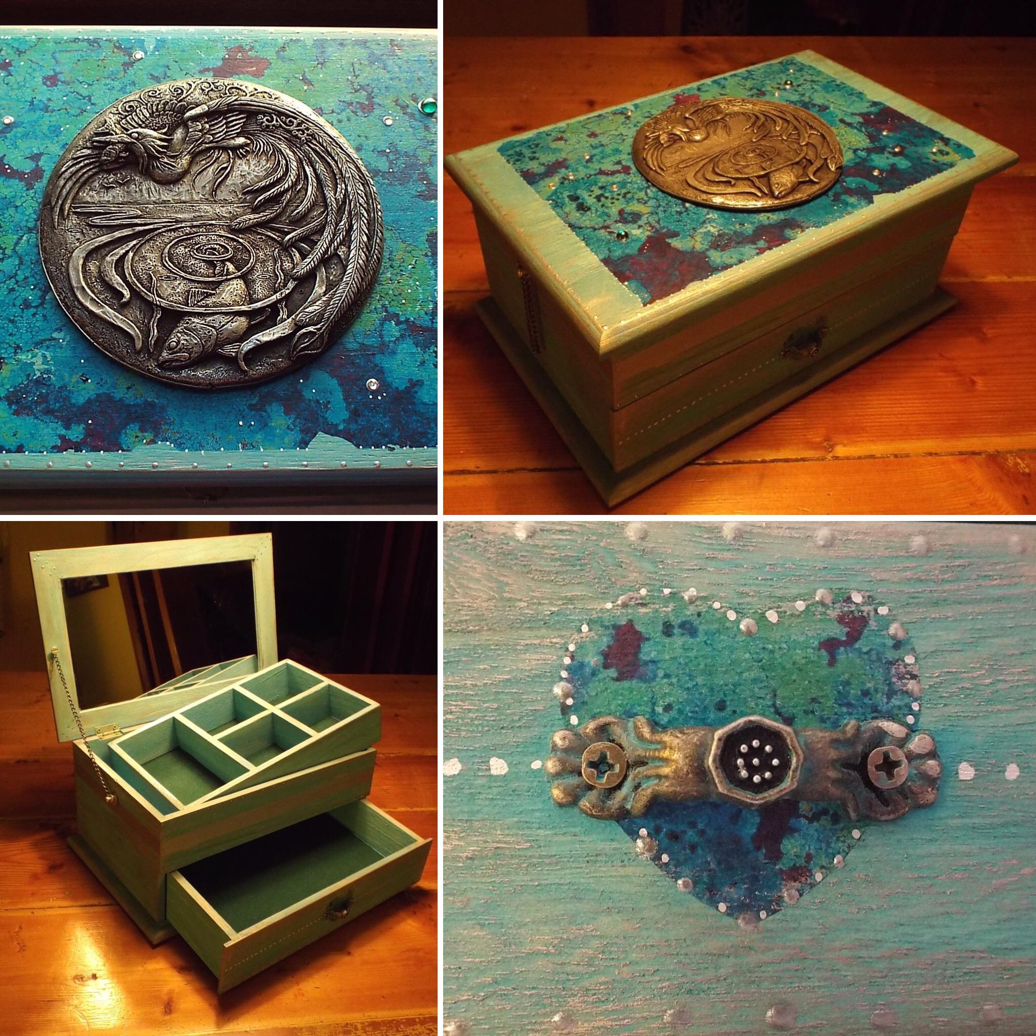 Halcyon Days jewellery box
