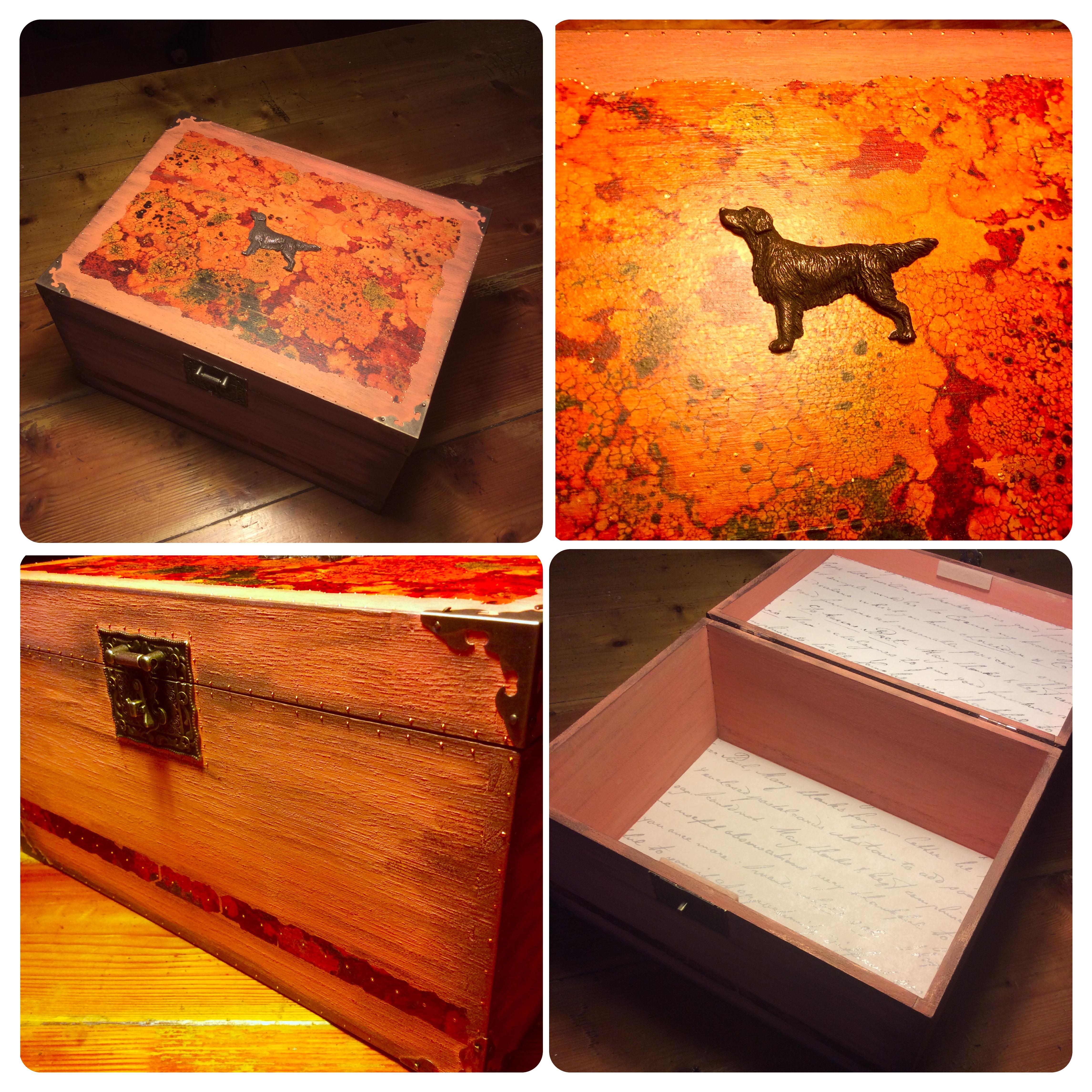 Flatcoated retriever box