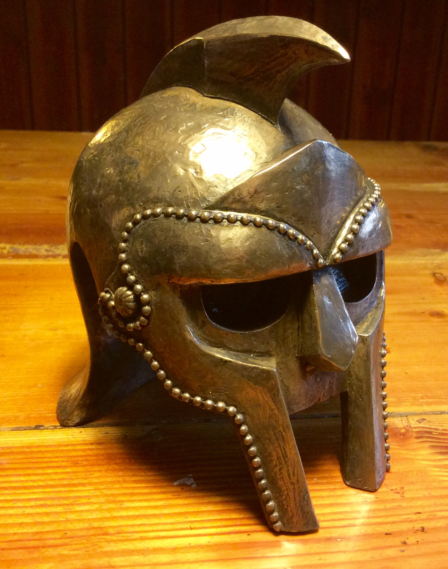 Gladiator helmet award