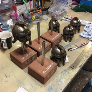Gladiator helmet awards